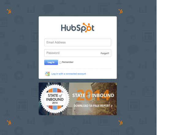 5. If you are not logged into HubSpot, you will need to authorize the connection