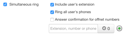 Simultaneous Ring - Ring All User's Phones