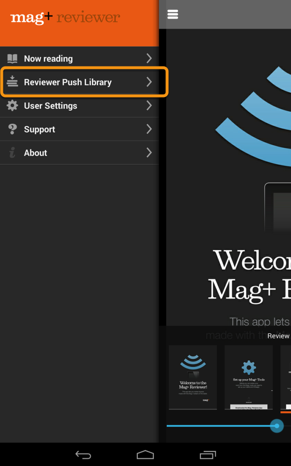 The Mag+ Reviewer will open the MIB file and add it to the Reviewer Push Library.