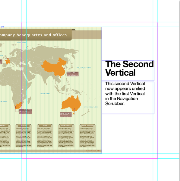 "Now create a second InDesign layout called ""Spread Example 2"" and place the rest of your content."
