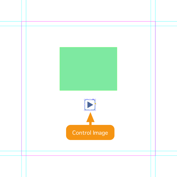 Place the first (or only) Control Image on your InDesign layout.