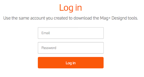 Log in to the Mag+ Publish portal at <http://publish.magplus.com>.