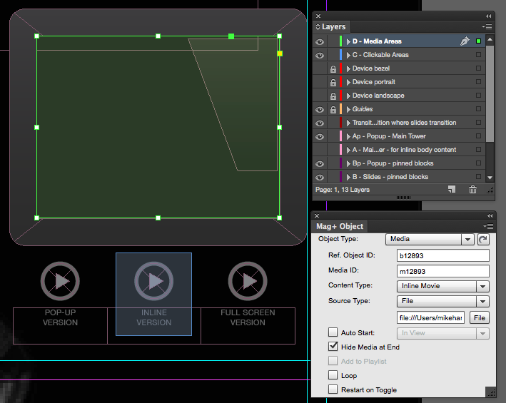 Adding Video and Audio to Your Layout – Mag+ Designd Support