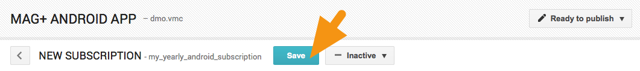 """Click on the """"Save"""" button at the top of the screen to save your changes."""
