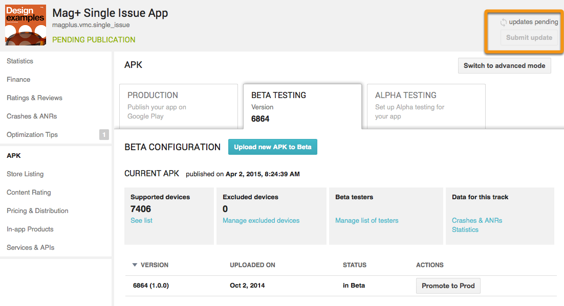 Android - Single-Issue Only: Testing Your App Before
