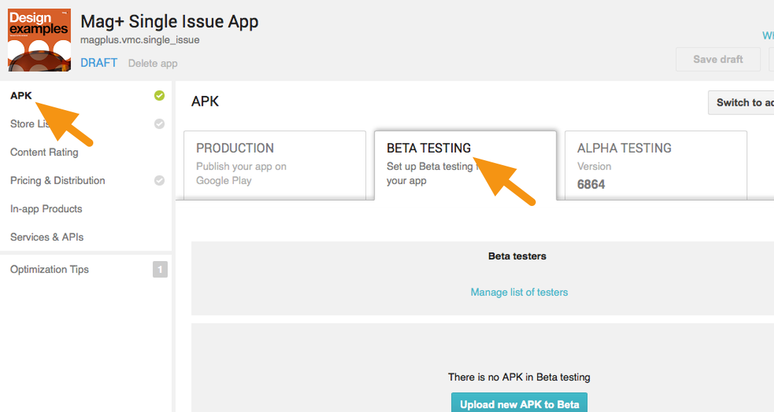 android single issue only testing your app before distribution