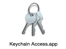 On your Mac, go to the folder Applications > Utilities and open Keychain Access.