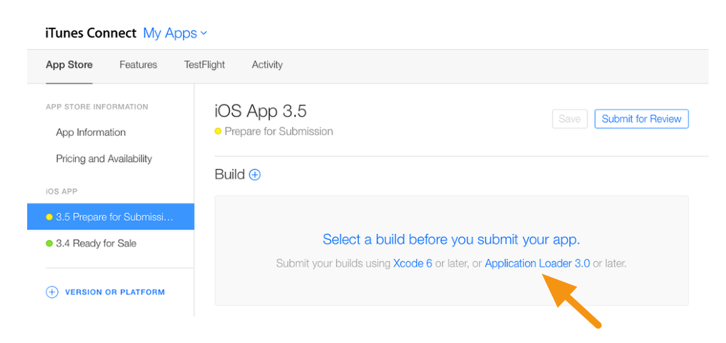 iOS - Uploading Builds Using Application Loader – Mag+