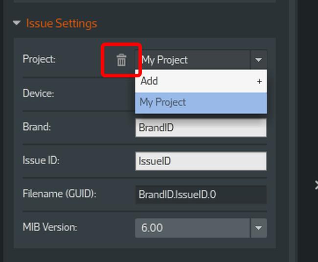 Remove a Project