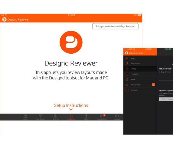 60 Release Notes Mag Designd Support