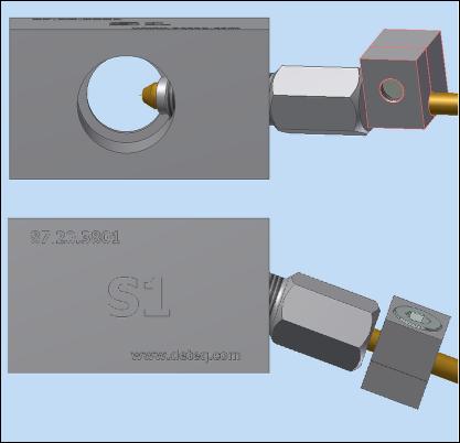 9227-S12 - angled holder