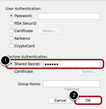 Configure Authentication