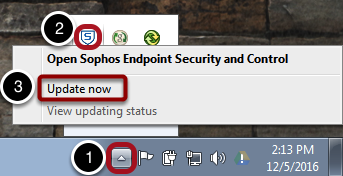 Update Sophos (If Needed)