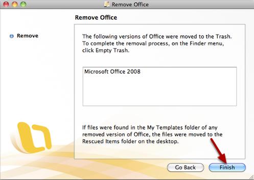 Remove Office