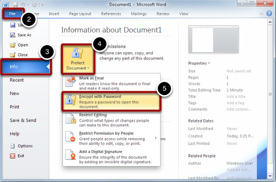 Encrypt the File