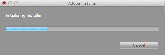 Wait for the Installer to Initialize