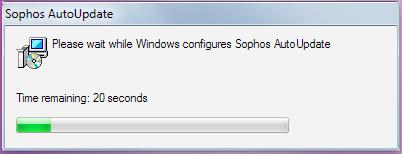 Let Sophos configure