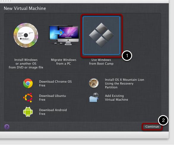 Use Your Virtual Machine
