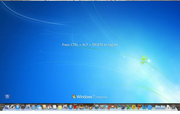 To Enter the Virtual Machine, Press Ctrl+Alt+Delete