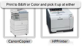 Releasing Print Jobs