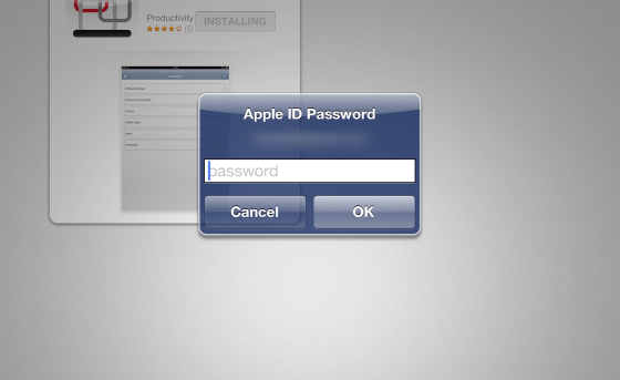 Enter Your Apple ID Password