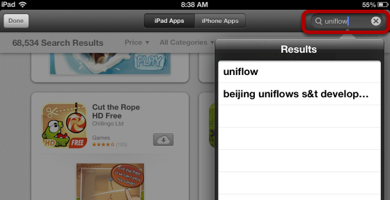 Search for Uniflow