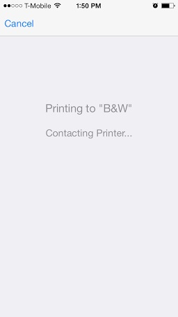 Wait for the Document to Appear on Print Queue