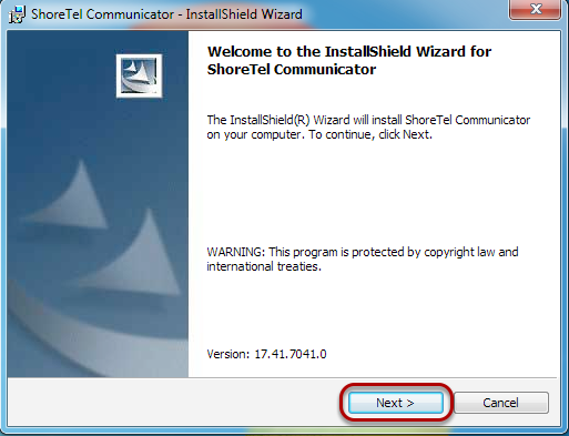 "The Install Wizard will pop up. Click ""Next""."