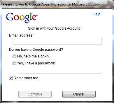 You will be prompted to Log In