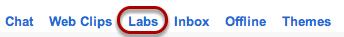 "Select ""Labs""."