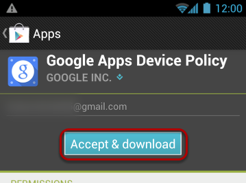 """Select """"Accept & Download""""."""