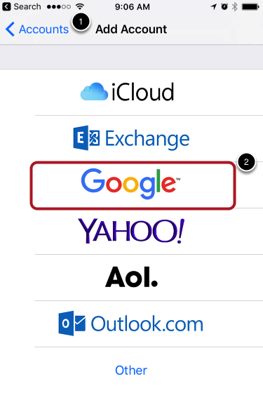 Set up OC Mail using Apple's Mail App on your iDevice