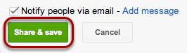 "Click ""Share & save""."
