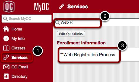 Open Web Registration