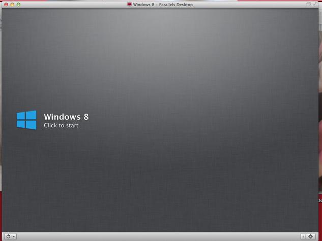 "Click ""Windows: Click to start"""