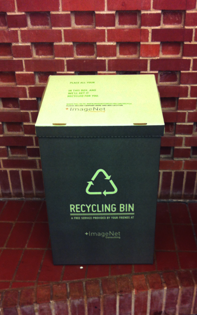 Toner Cartridge Recycling Bins