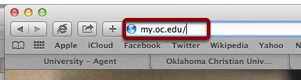Go to my.oc.edu