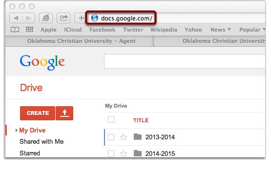 For Google Docs: