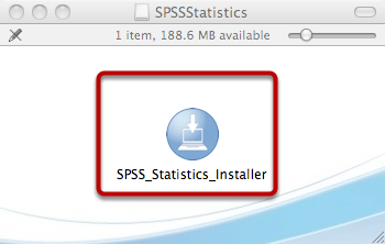 Double-Click to Start the Installer