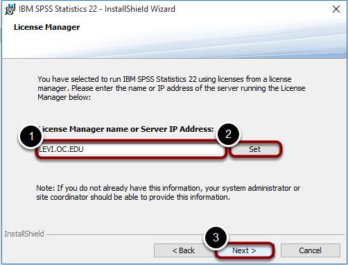 License Manager Server