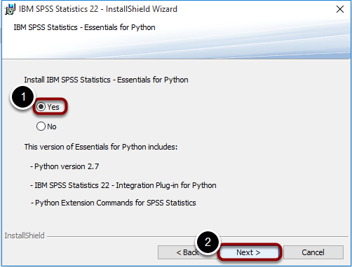 Install Python Essentials