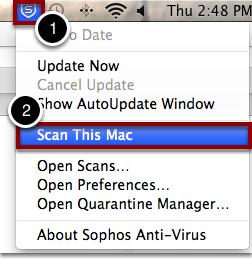 Sophos Virus Scan - Mac – Oklahoma Christian University
