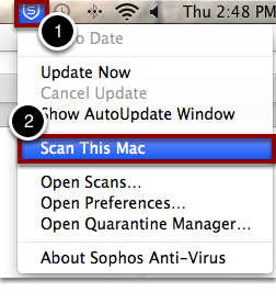 After Updating Sophos, Scan Your Mac