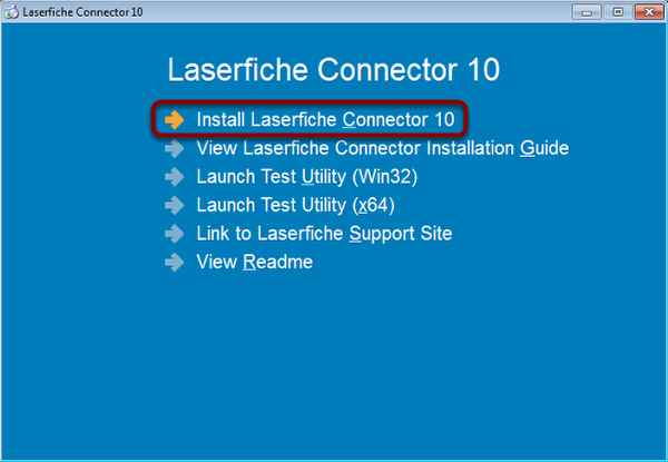 Select Installer