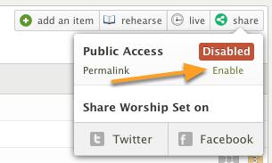 Enable Public Access