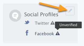 Verifying Profiles