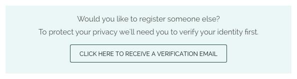 Register Someone Else or Add Someone Else