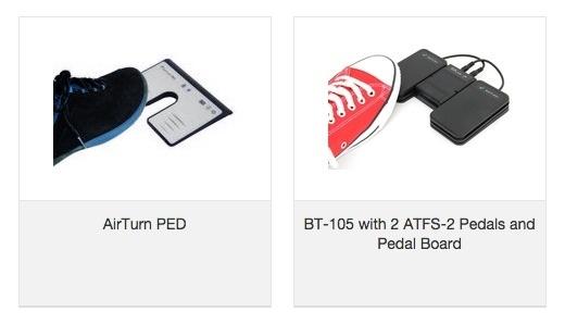 AirTurn Foot Pedal