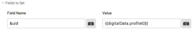 Standaard User-ID functionaliteit