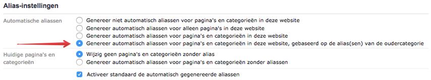 Categorieën genereren geen duplicate content meer
